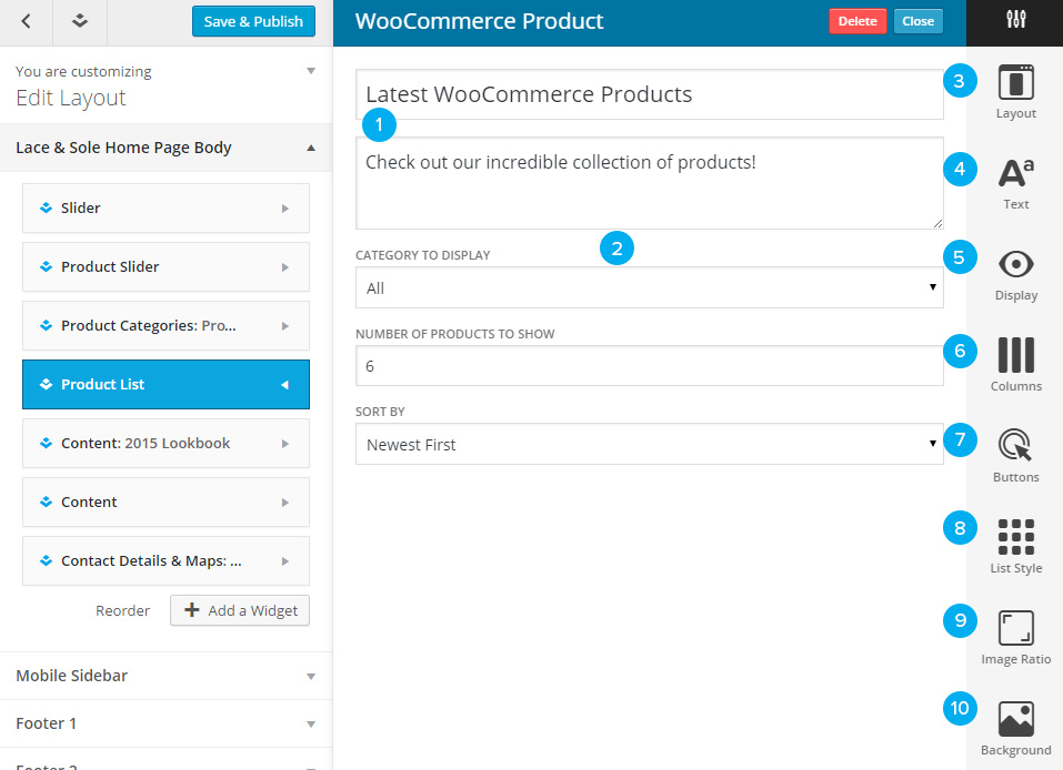 storekit product list widget layers docs